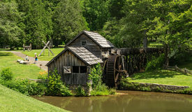 Mabry Mill. Floyd County, VA – June 21st: A view of Mabry Mill on the Blue Ridge Parkway, Floyd County, Virginia, USA on June 21st Stock Photos