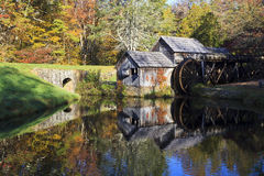 Mabry Mill Stock Photography