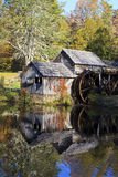 Mabry Mill. Historic Mabry Mill on the Blue Ridge Parkway in Meadows of Dan, Virginia in the fall stock photo