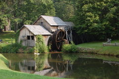 Mabry Mill. Historic Mabry Mill on the Blue Ridge Parkway Virginia Stock Image