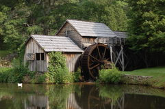 Mabry Mill 2. Historic Mabry Mill on the Blue Ridge Parkway Virginia Royalty Free Stock Photo