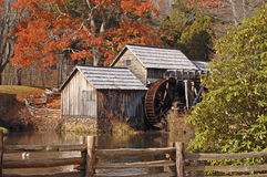 Mabry Mill 6. Historic Mabry Mill on the Blue Ridge Parkway Virginia Royalty Free Stock Photos