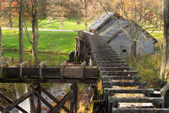 Mabry Mill - Rear View Royalty Free Stock Image