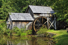 Mabry Mill in Virginia. Mabry Mill on the Blue Ridge Parkway in Virginia royalty free stock image