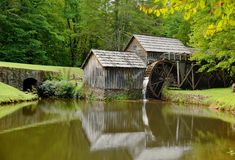Mabry Mill Stock Image