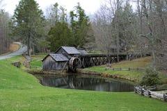 Mabrymolen op Blauw Ridge Parkway, Virginia Royalty-vrije Stock Afbeeldingen