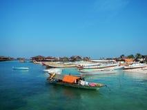 Mabul海岛 库存图片