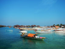 Mabul-Insel Stockbild