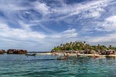 Mabul-Insel, Malaysia Lizenzfreies Stockbild