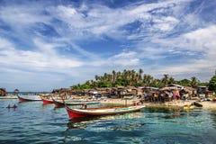 Mabul-Insel, Malaysia Lizenzfreie Stockbilder