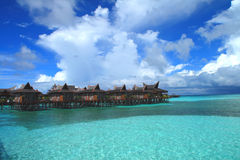 Mabul Island. Located some 25 minutes north of Sipadan Island, this island offers a different world of diving opportunities from most other diving locations Stock Image