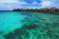 Mabul Island. Has historically played a supporting role its famous neighbour in Sabah, Sipadan Island. Since Mabul is considerably larger, and Pulau Sipadan is Stock Images