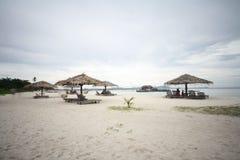 Mabul Island. Beautiful mabul island beach semporna Royalty Free Stock Images