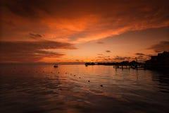 Mabul Island Borneo. A remote island of Mabul located in Semporna, Borneo Royalty Free Stock Images
