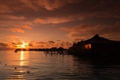 Mabul Island Borneo. A remote island of Mabul located in Semporna, Borneo Stock Image