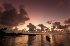 Mabul Island Borneo. A remote island of Mabul located in Semporna, Borneo Royalty Free Stock Photography