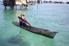 MABUL ISLAND,MALAYSIA-SEP TEMBER 23rd 2013 : Unidentified Sea Ba Stock Photography