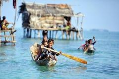 MABUL ISLAND,MALAYSIA - SEPTEMBER 20th 2012 : Unidentified Sea B Royalty Free Stock Photo