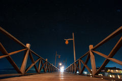 Mabul Island night Stock Image