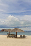 Mabul Island Beach Royalty Free Stock Image