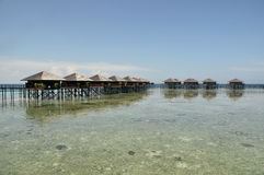 Mabul Island, Semporna, Sabah Royalty Free Stock Images