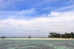 Mabul Resort Walkway Stock Images