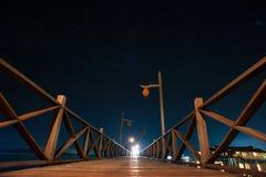 Mabul wyspy noc Obraz Stock