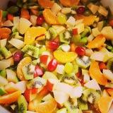 Macédoine de fruits fraîche Photos stock