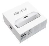 Mac微型计算机 图库摄影