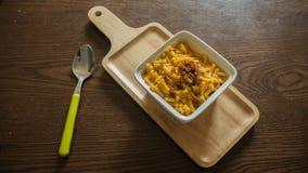 Mac και τυρί στοκ εικόνες