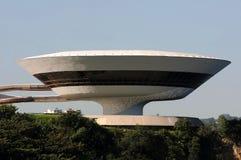 MAC - Μουσείο Σύγχρονης Τέχνης Niterà ³ ι στοκ εικόνες