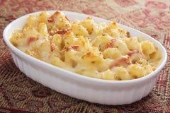 Mac & queijo do tomate Imagens de Stock Royalty Free