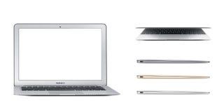 Mac book air laptop Stock Photography