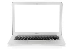 Mac book air laptop Stock Photography