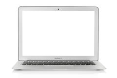 Mac book air laptop 13 Royalty Free Stock Photo