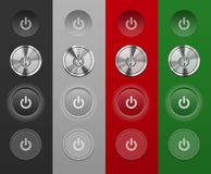 Mac Buttons. Different Mac Buttons do not depend on the background Royalty Free Stock Photo