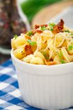 Mac and cheese with bacon Royalty Free Stock Photos