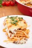 Mac and Cheese Bolognese Bake Stock Photos