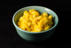 Mac and cheese in bowl Royalty Free Stock Photo