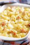 Mac cheese with chicken Royalty Free Stock Photography