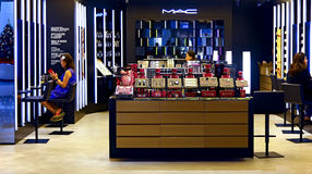 Mac cosmetics outlet. At elements shopping mall in hong kong Stock Images