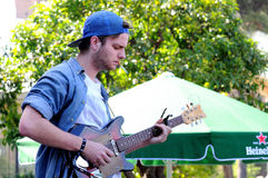 MAC DeMarco, instrumentalista i multimedia artysta, fotografia stock