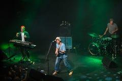 Mac DeMarco, tijdens prestaties bij Palladium Riga stock foto