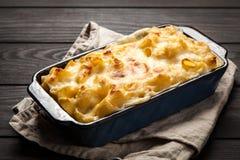 Mac e queijo Imagem de Stock Royalty Free