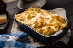 Mac e queijo Fotos de Stock Royalty Free