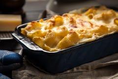 Mac e queijo Imagens de Stock Royalty Free