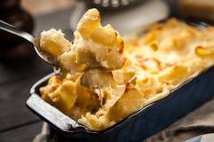 Mac e queijo Fotografia de Stock