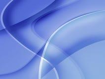 Mac-Estilo azul Fotografia de Stock
