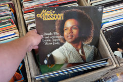Mac Kissoon. THE NETHERLANDS - AUGUST 2014: LP record of Mac Kissoon in a second hand store royalty free stock images