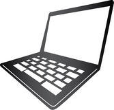Mac Laptop Stock Image